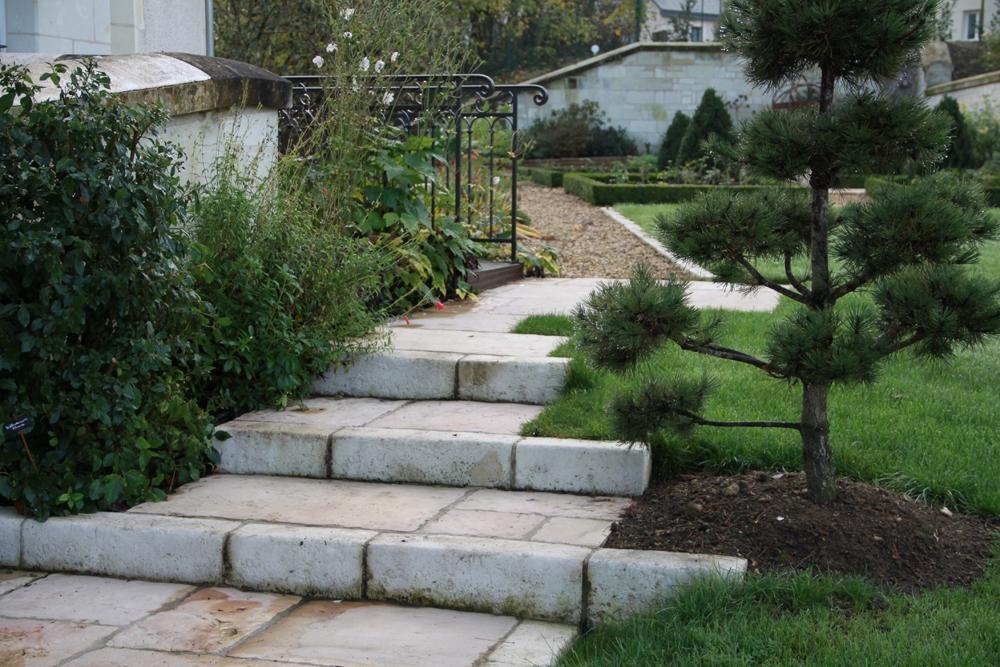 Escaliers berger paysage saumur for Escalier paysager